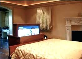tv lift cabinet foot of bed foot of bed tv stand overstock lift cabinets foot of bed pop up tv