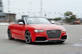 2013 audi rs 5 cabriolet first test motor trend