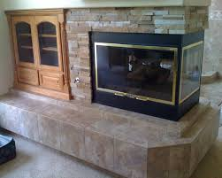 natural stone tile fireplace surround fireplace design ideas with