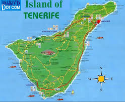 Spain Map World by Tenerife Map