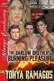 Seeking Burning Series The Barlow Brothers Burning Pleasure Siren Publishing Menage