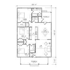 home design single story open floor plans small bungalow floor