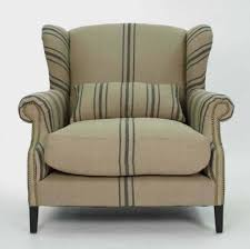 furniture white line slipcover for wing chair appealing