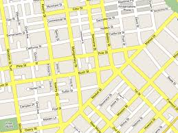 san francisco map downtown maps more hifi design with css