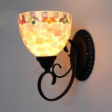 Mediterranean Wall Sconces Wall Sconces Modern Mediterranean Stained Glass