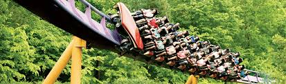 Busch Gardens Williamsburg Fall Fun Card - world class roller coasters busch gardens williamsburg