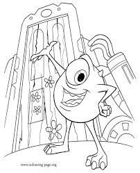 Coloring Pages Monsters Inc 521774 Coloring Scares