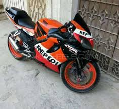 second hand honda cbr 600 for sale used honda cbr 600rr 2005 bike for sale in karachi 148365 pakwheels