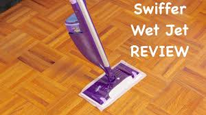 Laminate Floor Duster Swiffer Wet Jet Review Youtube