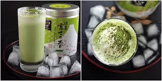 cara membuat thai tea latte matcha green tea latte float vemale com