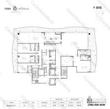 chateau floor plans fendi chateau residences unit 601 condo for sale in surfside