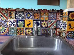 Mexican Tile Backsplash And Tile Backsplash Tierrayfuego Image - Mexican backsplash tiles