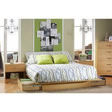 studio queen storage platform bed hayneedle