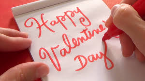 valentines day writing paper hand writing happy valentine s day with marker pen on a piece of hand writing happy valentine s day with marker pen on a piece of paper stock video footage videoblocks
