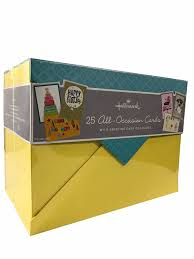 hallmark all occasion handmade boxed assorted