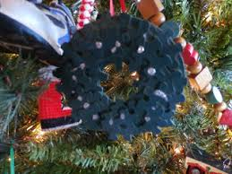 tales of a kansas farm recycled ornaments for