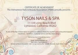 nail salon lynwood nail salon 90262 tyson nails u0026 spa