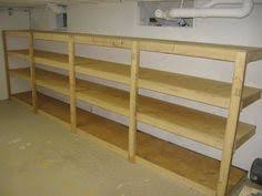 Basement Storage Shelves Woodworking Plans by How To Make A Basement Storage Shelf In One Night For Only 60
