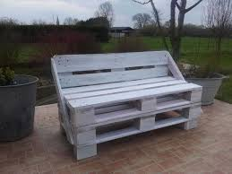 bench made out of pallets my first pallet bench made from two reclaimed pallets 1001 pallets