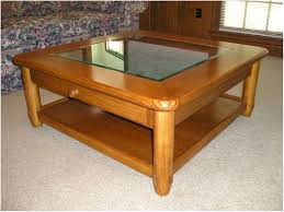 square oyster coffee table glass u2013 safeti me