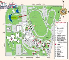 State Map Of Illinois by Maps To The Illinois State Fair