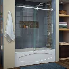 Shower Doors Unlimited How To Install A Frameless Shower Door Delta Contemporary
