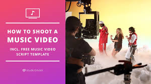 how to shoot a music video free music video script template
