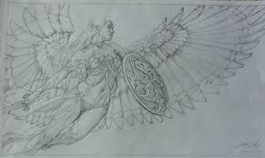 athena preliminary sketch michael c hayes in the november 2015