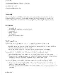 download security guard resume haadyaooverbayresort com