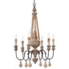 regina andrew lighting parisian wood bead chandelier layla grayce