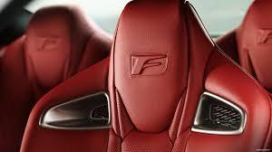 white lexus red interior 2017 lexus rc f comfort u0026 design lexus com