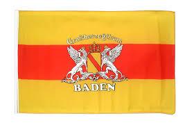 Baden Wurttemberg Flag Kleine Baden Mit Wappen Flagge 30 X 45 Cm Flaggenplatz De