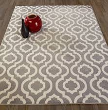 Area Rugs 8 By 10 Amazon Com Gray Moroccan Trellis 8x11 Area Rug Carpet Large New