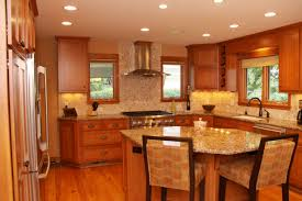Kitchen Cabinet And Countertop Ideas Bathroom Design Interesting Brown Wooden Kitchen Cabinet With