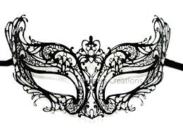 metal masquerade mask luxury metal laser cut womens masquerade mask