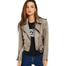 biker coat online buy wholesale brown biker jacket from china brown biker