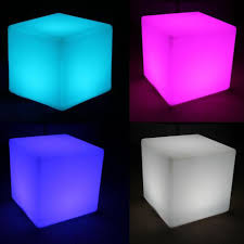 light up cubes pool party lights fountains and inflatables
