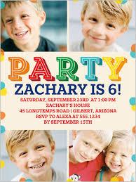 6th birthday invitations shutterfly