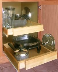 Kitchen Cabinet Shelf Organizer Shelf On Wheels Expandable Pull Out Kitchen Cabinet Shelf Wood By