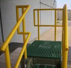 Fiberglass Handrail Round Frp Handrail Fiberglass Handrail Fittings Components 36 40