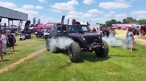 hauk hellcat jeep wrangler steam powered jeep jk 6x6 youtube