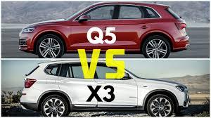 q5 vs bmw x3 2017 audi q5 vs bmw x3