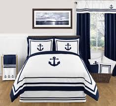 Beach Comforter Set Nautical Anchor Full Queen Bedding 3 Pc Comforter Set Nautical