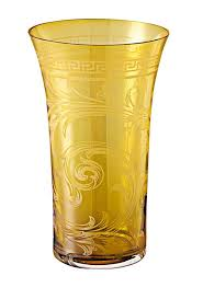 Rosenthal Glass Vase Versace By Rosenthal Arabesque Products