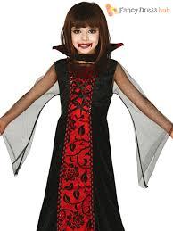 halloween costumes girls kids childs countess vampire costume girls halloween dracula fancy
