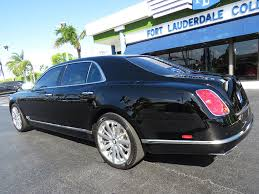 bentley mulsanne interior 2014 2014 used bentley mulsanne mulliner sedan at fort lauderdale