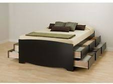 Platform Bed Ebay - queen captains bed ebay