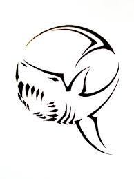 thresher shark tribal tattoo design photos pictures and