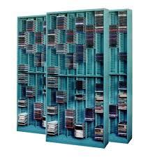 Dvd Bookcase Storage Compact Cd Media Rack High Density Cd Dvd Shelving Cd Storage