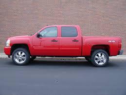 Red Lifted Chevy Silverado Truck - chevy silverado wheels and tires 18 19 20 22 24 inch